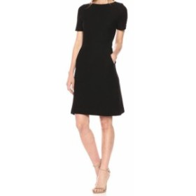 French Connection フレンチコネクション ファッション ドレス French Connection Womens Dress Black Size 2 Sheath Textured Waffle-Kn