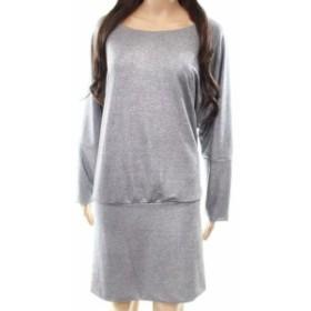 Shift  ファッション ドレス The Vanity Room NEW Silver Womens Size PXS Petite Shimmer Shift Dress