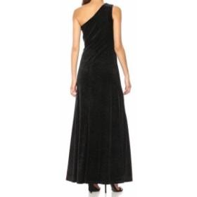 Calvin Klein カルバンクライン ファッション ドレス Calvin Klein NEW Black Womens Size 8 Shimmer Velvet Gown Dress