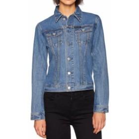 Calvin Klein カルバンクライン ファッション 衣類 Calvin Klein NEW Blue Womens Size XL Denim Trucket Button Front Jacket