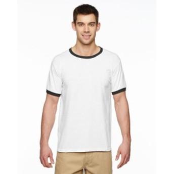 Gildan ギルダン ファッション トップス Gildan Mens Gildan DryBlend 5.6 oz. Ringer T-Shirt 6 Pack G860 All Sizes