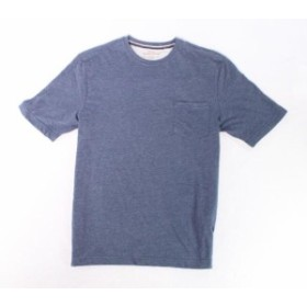 Weatherproof ウォータープルーフ ファッション トップス Weatherproof NEW Blue Mens Size Small S One-Chest Pocket Tee Shirt