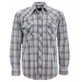 lw エルダブリュー ファッション アウター LW Mens Western Cowboy Pearl Snap Button Long Sleeve Casual Rodeo Dress Shirt