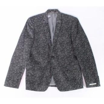 Blazer ブレザー ファッション フォーマル M 151 NEW Black White Mens Size Medium M Geometric Two Button Blazer