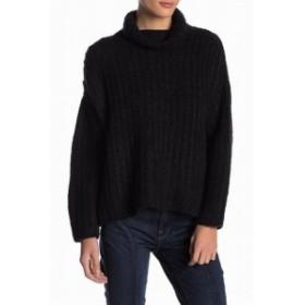 Free People フリーピープル ファッション トップス Free People Womens Sweater Black Size XS Turtleneck Mock Knit