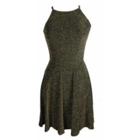 ファッション ドレス Bar Iii Black Lurex Fit And Flare Dress L