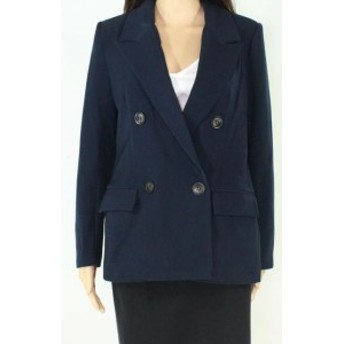 Blazer ブレザー ファッション フォーマル Elodie Womens Blazer Navy Blue Size Small S Double-Breasted Pocketed