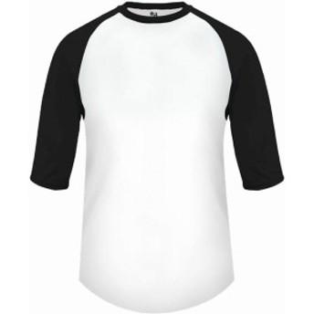 スポーツ用品 ベースボール Badger Youth B-Baseball 3/4 Sleeve Shirt