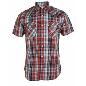 Levis リーバイス ファッション アウター Levis mens short sleeve snap front shirt