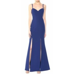 LIKELY ライクリー ファッション ドレス LIKELY NEW Blue Womens Size 0 Alameda Double Slit Sweetheart Gown