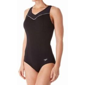 empire エンパイア スポーツ用品 スイミング Speedo NEW Black Womens Size 6 Empire Hydro-Bra One-Piece Swimsuit
