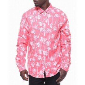 ファッション アウター Trunks Surf & Swim Co. NEW Pink Mens Size Medium M Button Down Shirt