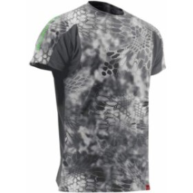 ファッション トップス Huk Trophy Kyrptek Antimicrobial Stain Release T-Shirt - Raid