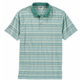 Agave アガベ スポーツ用品 ゴルフ Linksoul August Stripe Mens Polo Shirt LS1203 - Agave - Pick Size