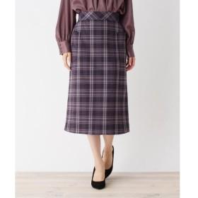 OPAQUE.CLIP / オペーク ドット クリップ 【洗える】チェックポケットタイトスカート