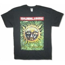 ファッション トップス Sublime-Leaves-40 oz to Freedom-Black T-shirt