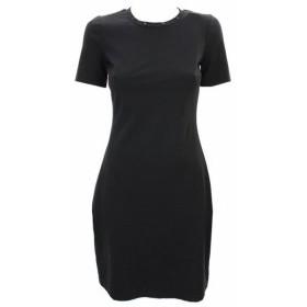 Kenneth Cole ケネスコール ファッション ドレス Kenneth Cole New Black Studded Shift Dress Msrp