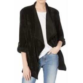 BB Dakota BB ダコタ ファッション 衣類 BB Dakota NEW Black Womens Size Small S Draped Chenille Roll Tab Jacket
