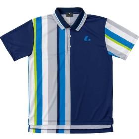 ルーセント LUCENT テニスウェア ユニセックス ゲームシャツ ネイビー XLP8376 2018SS[ポスト投函便対応]