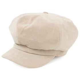(ベーシックエンチ)キャスケット Fake Suede Cas 帽子 レディース メンズ 男女兼用 IVORY フリーサイズ