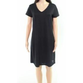 Calvin Klein カルバンクライン ファッション ドレス Calvin Klein Jeans NEW Black Womens Size Medium M V-Neck T-Shirt Dress