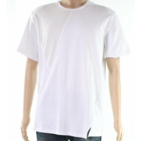 CoSTUME NATIONAL コスチュームナショナル ファッション トップス Costume National NEW White Mens Size XL Panel Crewneck Tee T-Shirt