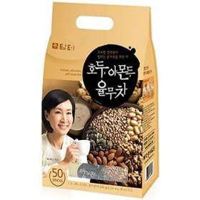 ダムト くるみ茶 50包 1袋 はと麦 くるみ アーモンド 松の実 韓国 食品 食材 料理 健康茶 韓国お土産 伝統茶 お土産 お中元