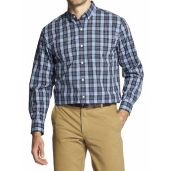 IZOD アイゾッド ファッション アウター Izod Premium Essentials Stretch Plaid Cotton Button Down Shirt