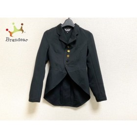 ブラックコムデギャルソン BLACK COMMEdesGARCONS ジャケット サイズXXS XS レディース 美品 黒 新着 20190928