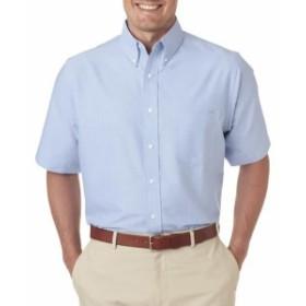 Oxford  ファッション トップス UltraClub Mens Tall Classic Wrinkle-Free Short-Sleeve Oxford 8972T XLT-2XLT
