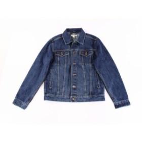 ファッション アウター GOODTHREADS Mens Blue Size Medium M Four-Pocket Denim Jean Jacket