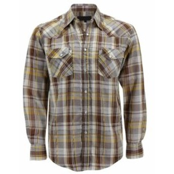 lw エルダブリュー ファッション アウター LW Mens Western Cowboy Pearl Snap Button Long Sleeve Casual Rodeo Dress Shirt