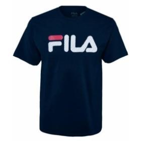fila フィラ ファッション トップス Fila Mens Short Sleeve Logo Graphic Crew Neck T-Shirt