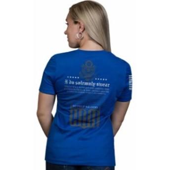 line ライン ファッション  Nine Line Apparel Womens The Oath Relaxed Fit Short Sleeve T-Shirt