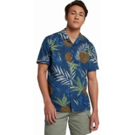 Hurley ハーレー ファッション アウター Hurley Mens Seaward Hawaiian Print Button Front Shirt