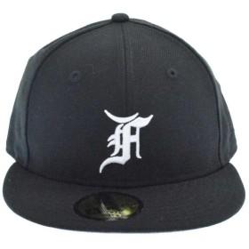 FOG Essentials(フォグエッセンシャル)19SS×NewEraニューエラ ロゴ刺繍ベースボールキャップ ブラック