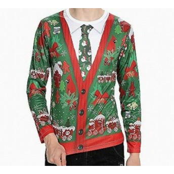 ファッション トップス Pumpkin NEW Green Mens Size XL Crew Neck Christmas Graphic Tee Shirt