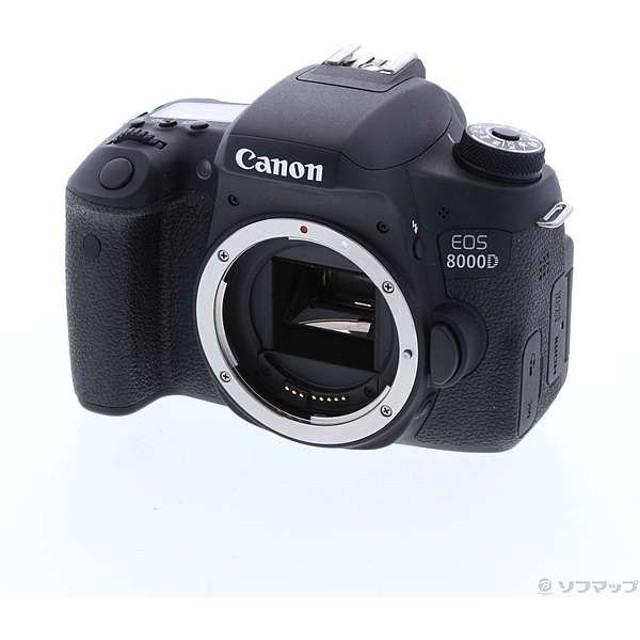 〔中古〕Canon(キヤノン) EOS 8000D (W) ボディ (2420万画素/SDXC)〔09/28(土)新入荷〕