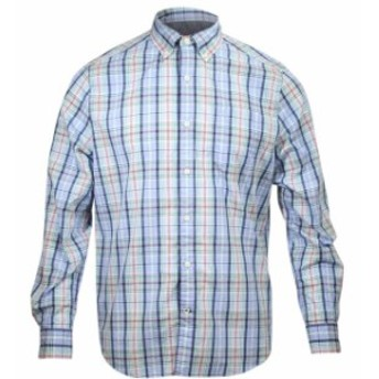 nautica ノーティカ ファッション アウター Nautica Mens Bold Plaid Long Sleeve Cotton Button Down Shirt