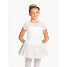 Capezio カぺジオ ファッション スカート Capezio Sparkle 4 Layer Tutu Dress Childrens Dance Wear (11350C)