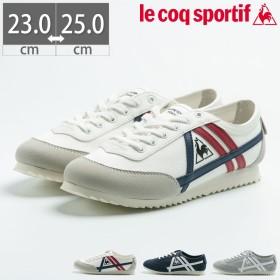 【送料無料】【10%OFF】 ルコック スポルティフ le coq sportif LA シャルトリュー レディース スニーカー シューズ 靴 クラシック 軽量 低反発 消臭 QL3LJC18 ホワイ