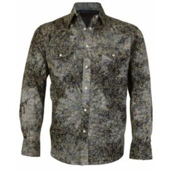 lw エルダブリュー ファッション アウター LW Mens Western Cowboy Pearl Snap Long Sleeve Slim Fit Rodeo Casual Dress Shirt