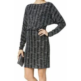 Jessica Howard ジェシカハワード ファッション ドレス Jessica Howard NEW Black Womens Size 6 Shimmer Blouson Sheath Dress