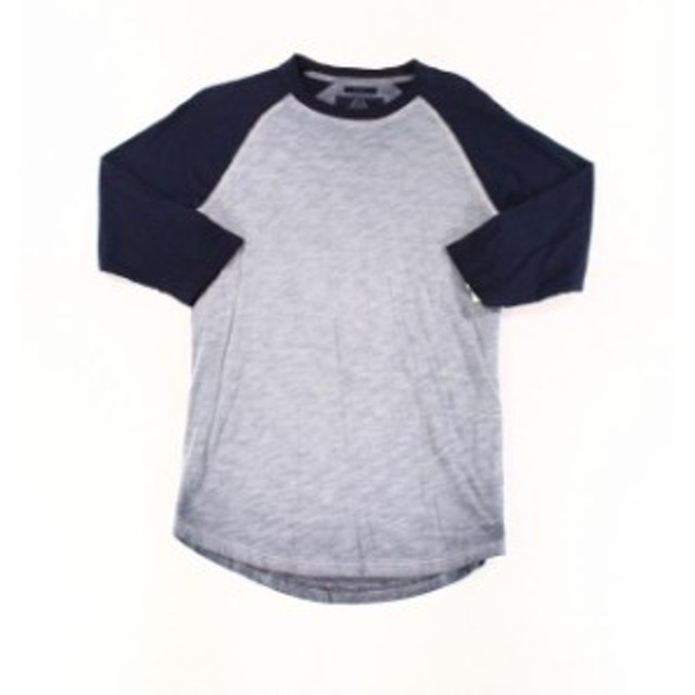 Alfani  ファッション トップス Alfani NEW Blue Mens Size Small S 3/4 Sleeve Raglan Baseball T-Shirt
