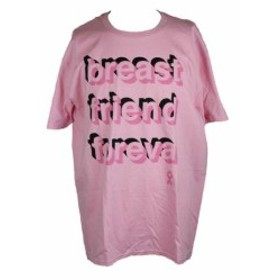 ファッション トップス Jem pink short sleeve graphic-print t-shirt xl
