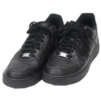NIKE AIR FORCE 1 07 エアフォース スニーカー ブラック サイズ:27.5cm (三軒茶屋店) 190928