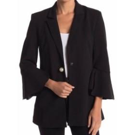 Blazer ブレザー ファッション フォーマル Romeo & Juliet Couture Womens Black Size Medium M Flare Sleeve Blazer