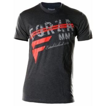 """ファッション トップス Forza Sports """"New Heights"""" MMA T-Shirt - Charcoal"""