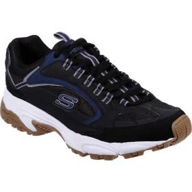 [スケッチャーズ] シューズ スニーカー Stamina Cutback Training Shoe Black/Navy メンズ [並行輸入品]