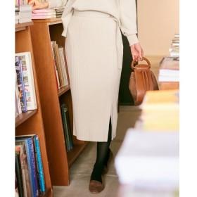 組曲 / クミキョク 【組曲×Oggiコラボ】ストレッチセットアップ リブタイトスカート